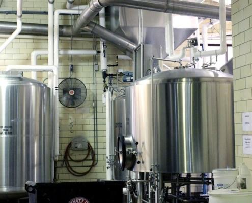 Elektroinstalace provozovna pivovar